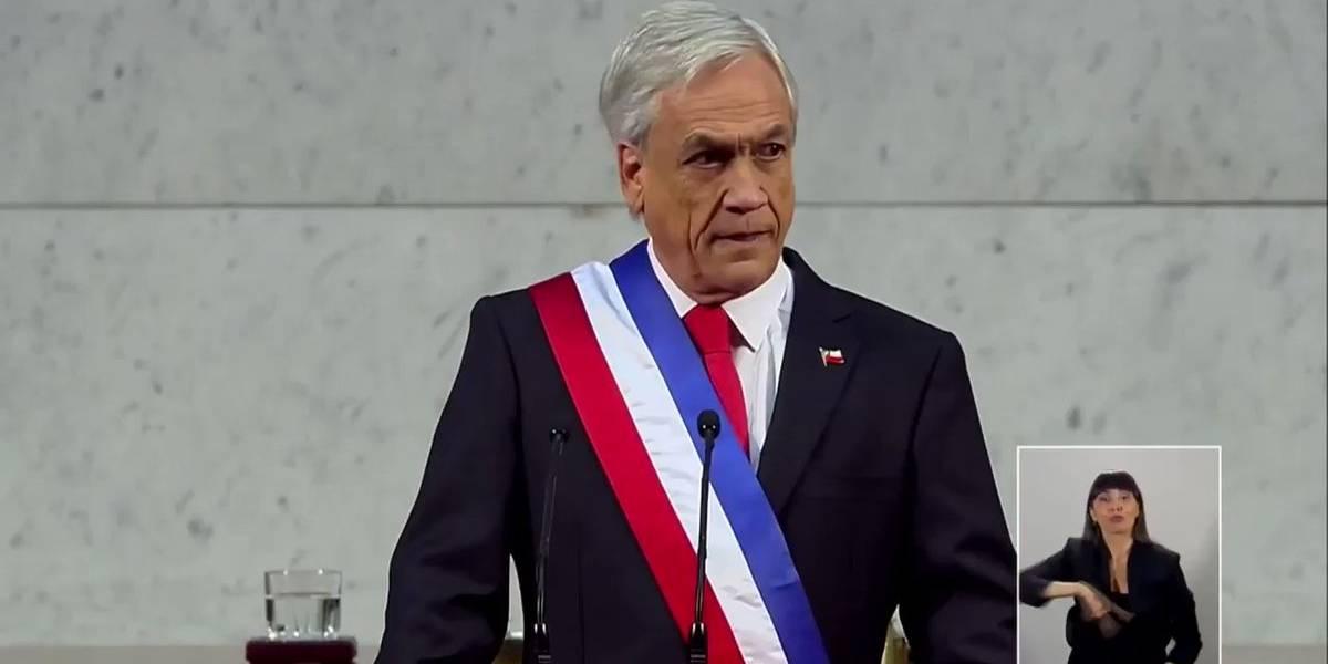 Cuenta Pública de Piñera: Consejo del Futuro, red de fibra óptica alta velocidad, trámites por Internet y más líneas de Metro