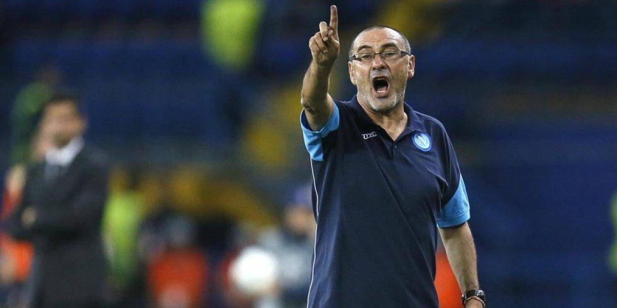 Preso de sus palabras: Chelsea descartó por homofóbico al italiano Maurizio Sarri