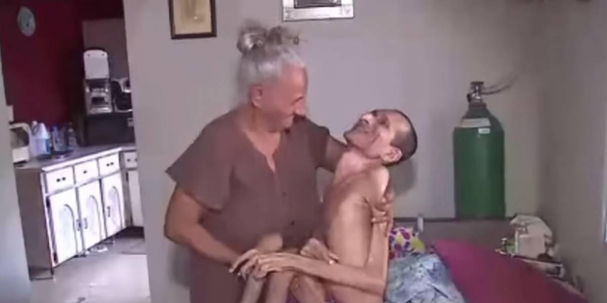 No llega la ayuda para anciana con esposo e hijo encamado en Humacao