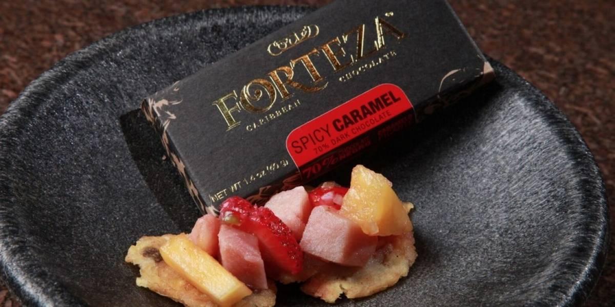 Experiencia gastronómica singular con chocolate