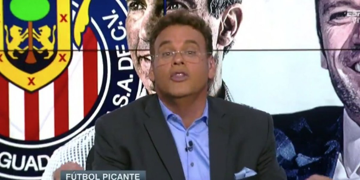 VIDEO: Higuera está escondido como una rata, David Faitelson