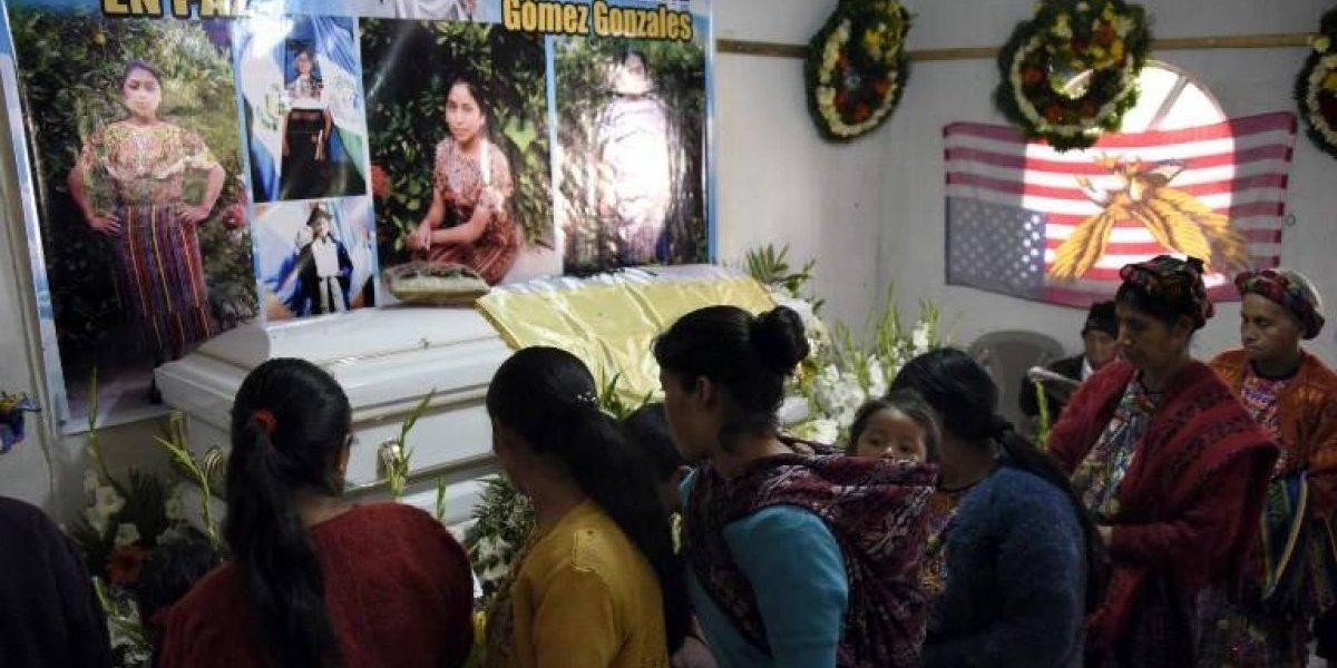 Reclaman justicia en velorio de migrante guatemalteca abatida en frontera de EE.UU.