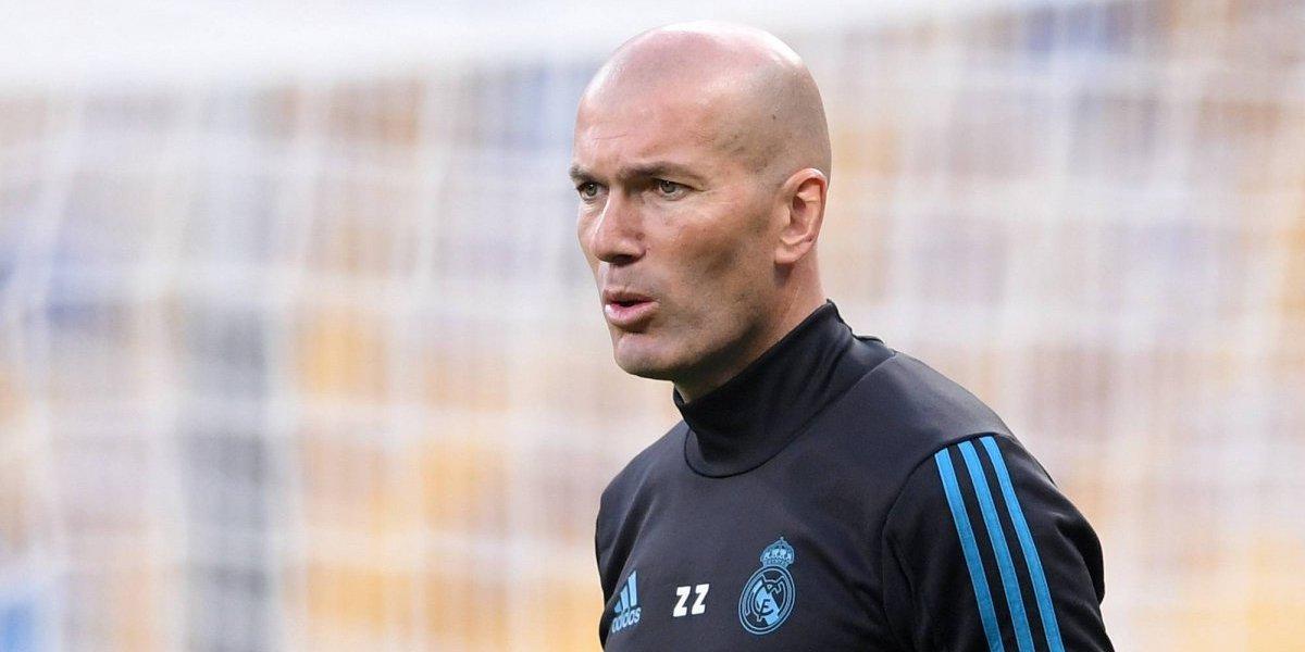 Zidane dio el primer paso para de la debacle del Real Madrid