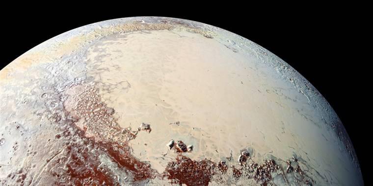 La NASA ha encontrado posibles vestigios de vida en Plutón