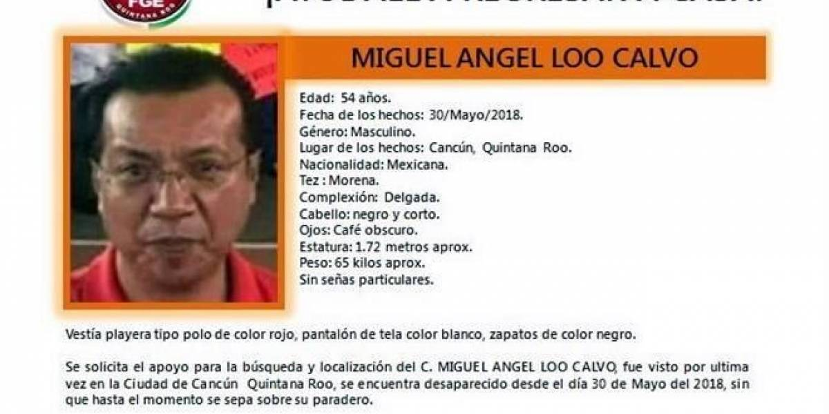 Hallan muerto a representante del PRI en Quintana Roo
