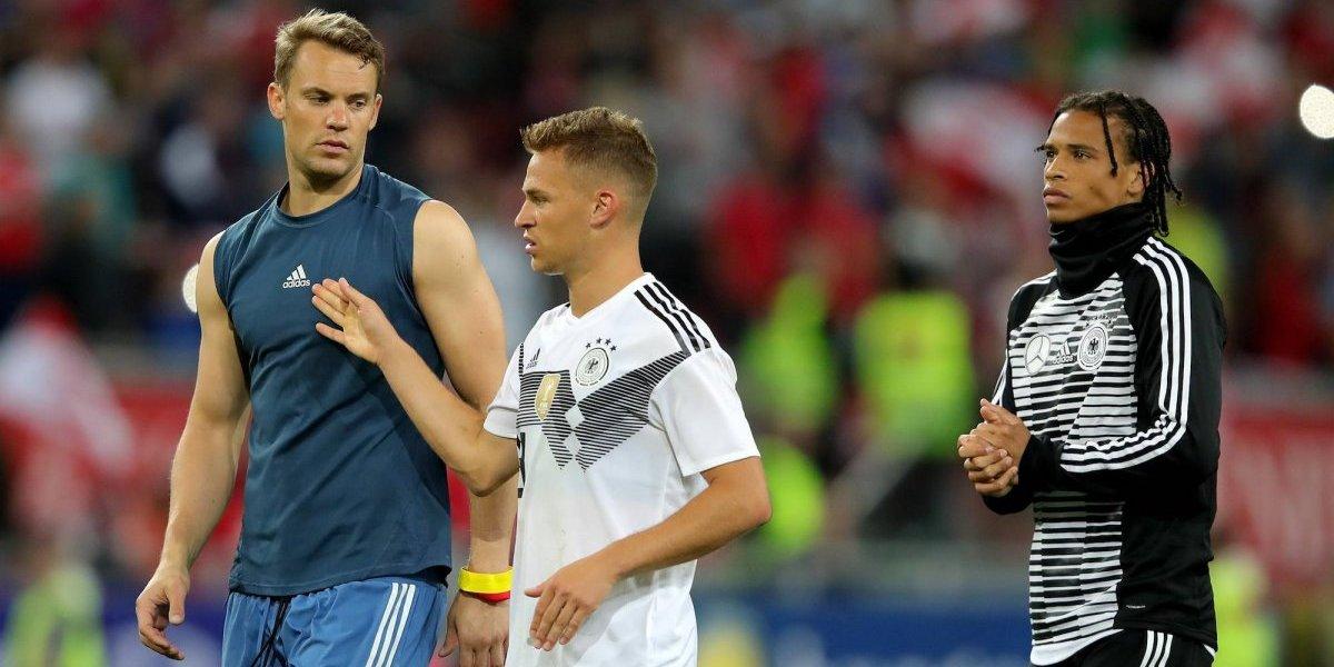 Manuel Neuer reaparece con una Alemania gris que pierde ante Austria