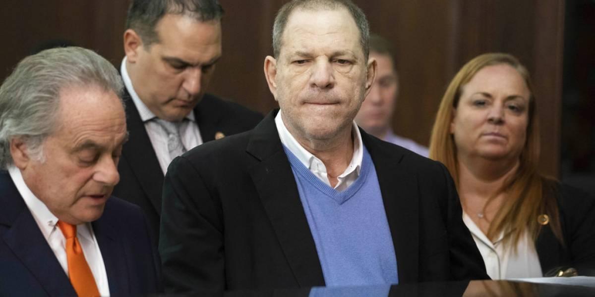 Presentan nuevas denuncias de violación contra Harvey Weinstein