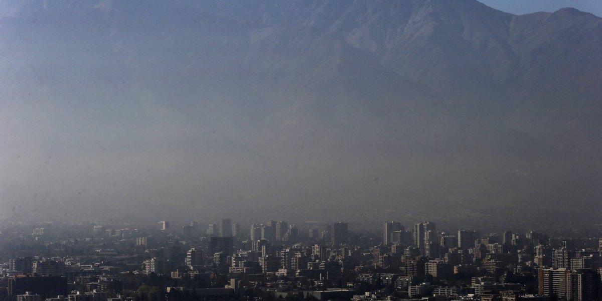 Mala calidad del aire: decretan primera preemergencia ambiental del año para la Región Metropolitana