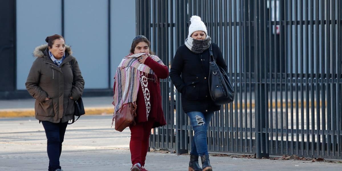 Ola de frío congeló este sábado a la Región Metropolitana: temperatura alcanzó los -5,7 grados