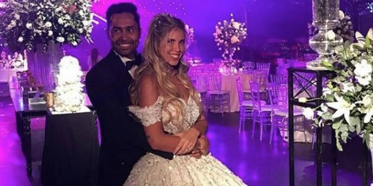 """Con lujos y famoso invitados: Así fue el matrimonio de Coté López y Luis """"Mago"""" Jiménez"""