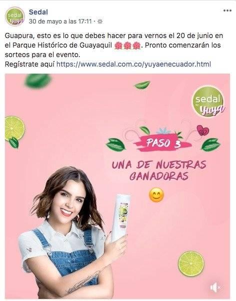 Captura Yuya viene a Ecuador