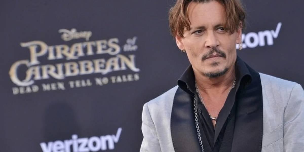 Johnny Depp impresiona con su esquelético look