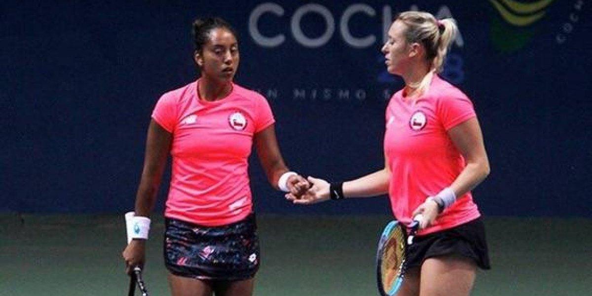 Daniela Seguel tuvo su revancha y consiguió el oro en dobles junto a Alexa Guarachi
