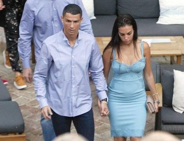 Getty Georgina Rodríguez y Cristiano Ronaldo