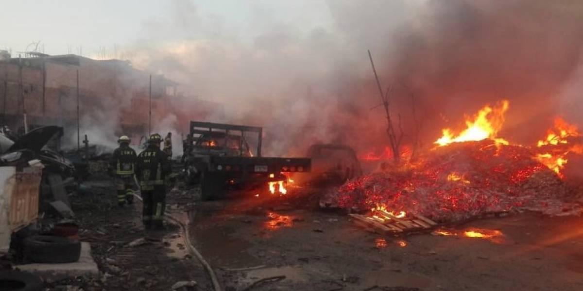 Controlado el incendio en la colonia Reforma Política, Iztapalapa: Protección civil