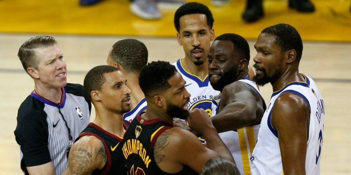 Se salva Tristian Thompson de suspensión en finales NBA