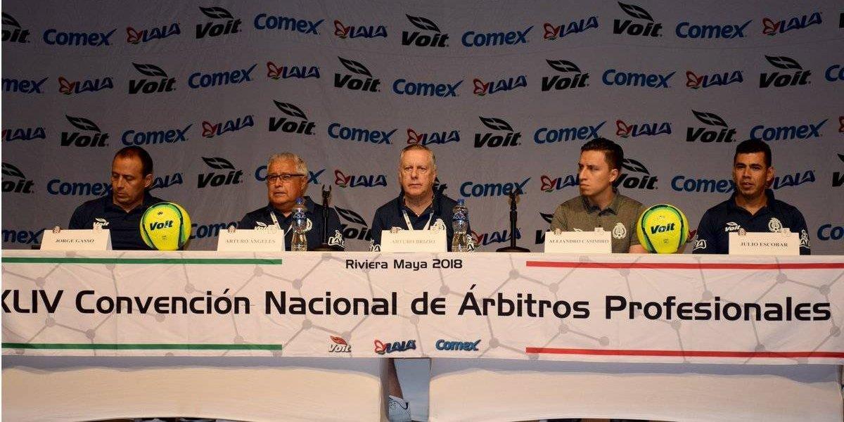 Selección mexicana recibe capacitación sobre el VAR, rumbo Rusia 2018