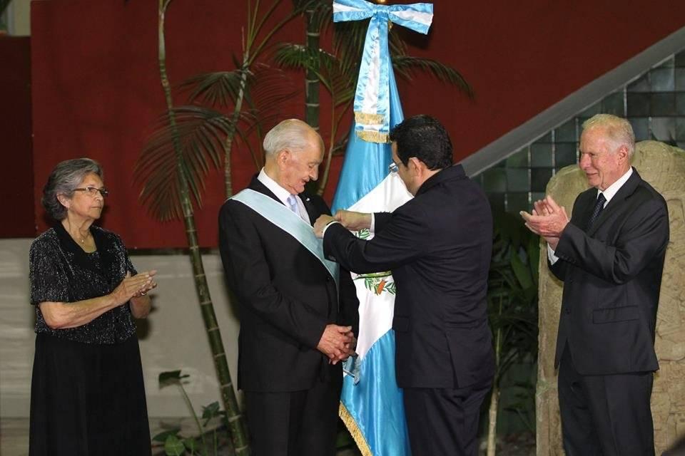 José Fernando Mazariegos Anleu, inventor del ecofiltro. Fotos: Facebook