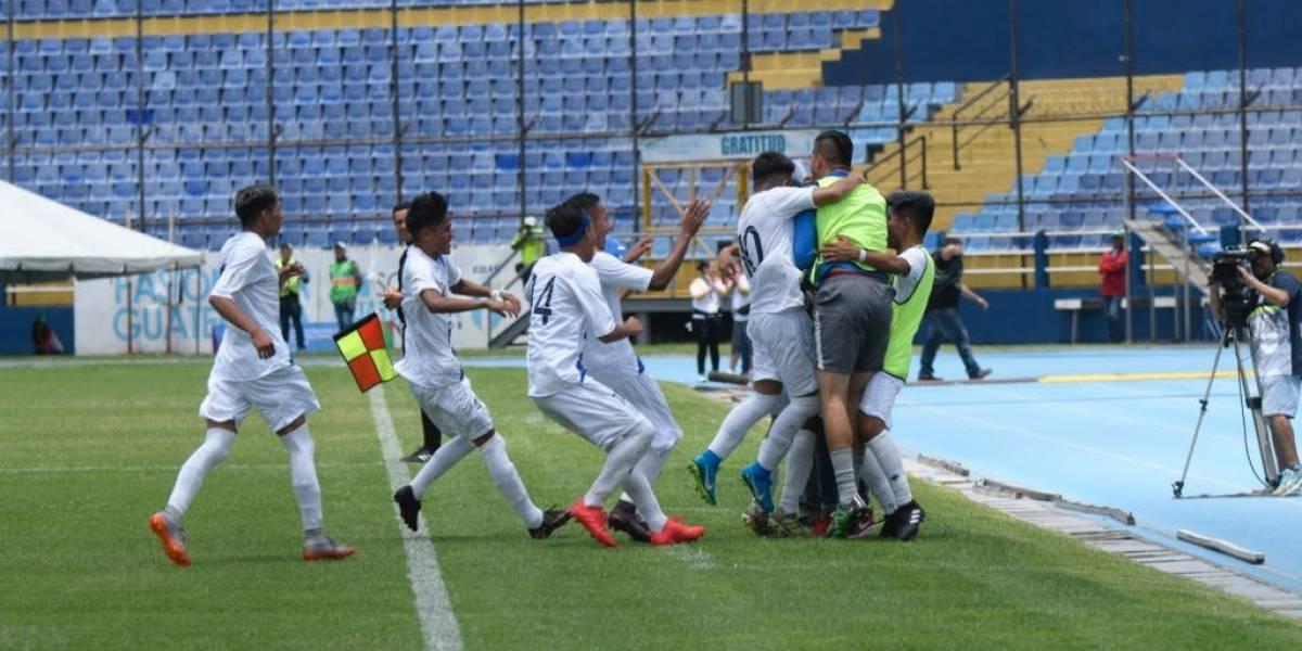 Guatemala golea a Cuba en el inicio del Futbol Unificado