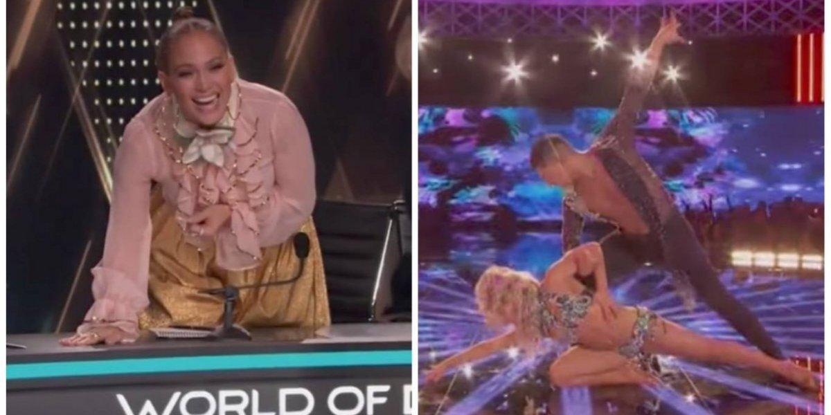 VIDEO. La reacción de Jennifer López por baile de chilenos revienta las redes