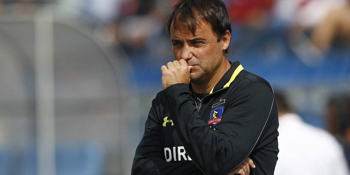 """Sierra abre viejas heridas sobre su salida de Colo Colo: """"No es la forma que me hubiese gustado"""""""
