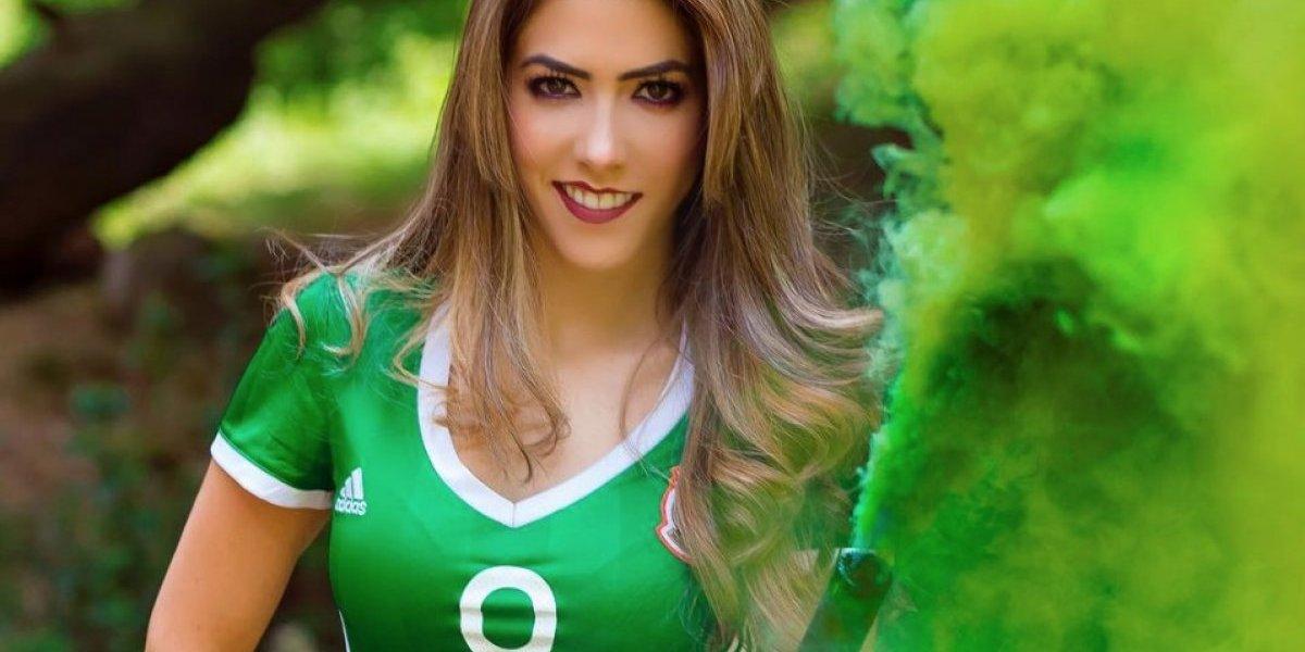 FOTOS: Daniela Basso, la guapa aficionada del Tri y novia de Raúl Jiménez