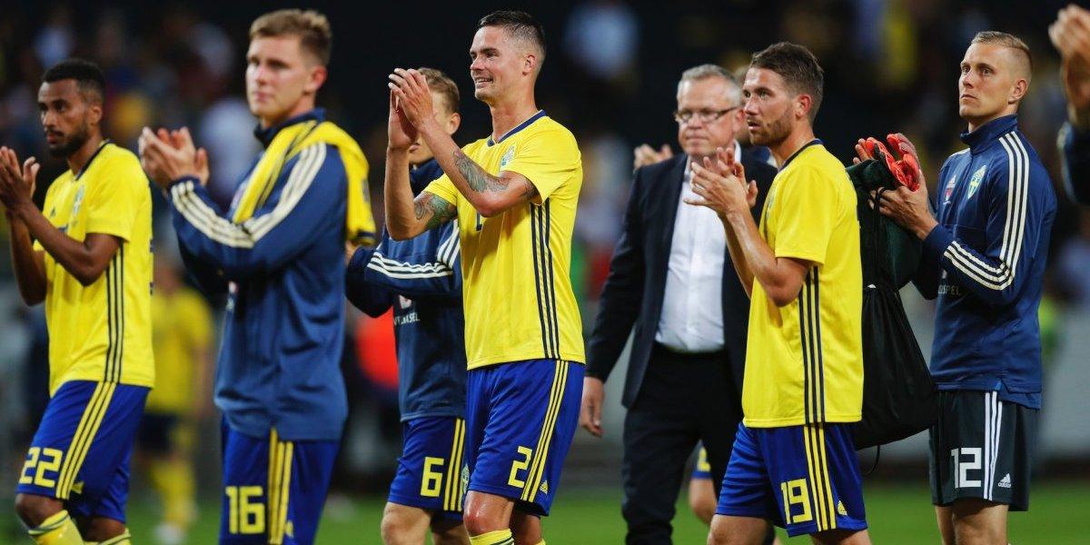 Suecia, rival del Tri en Mundial empata en amistoso frente a Dinamarca