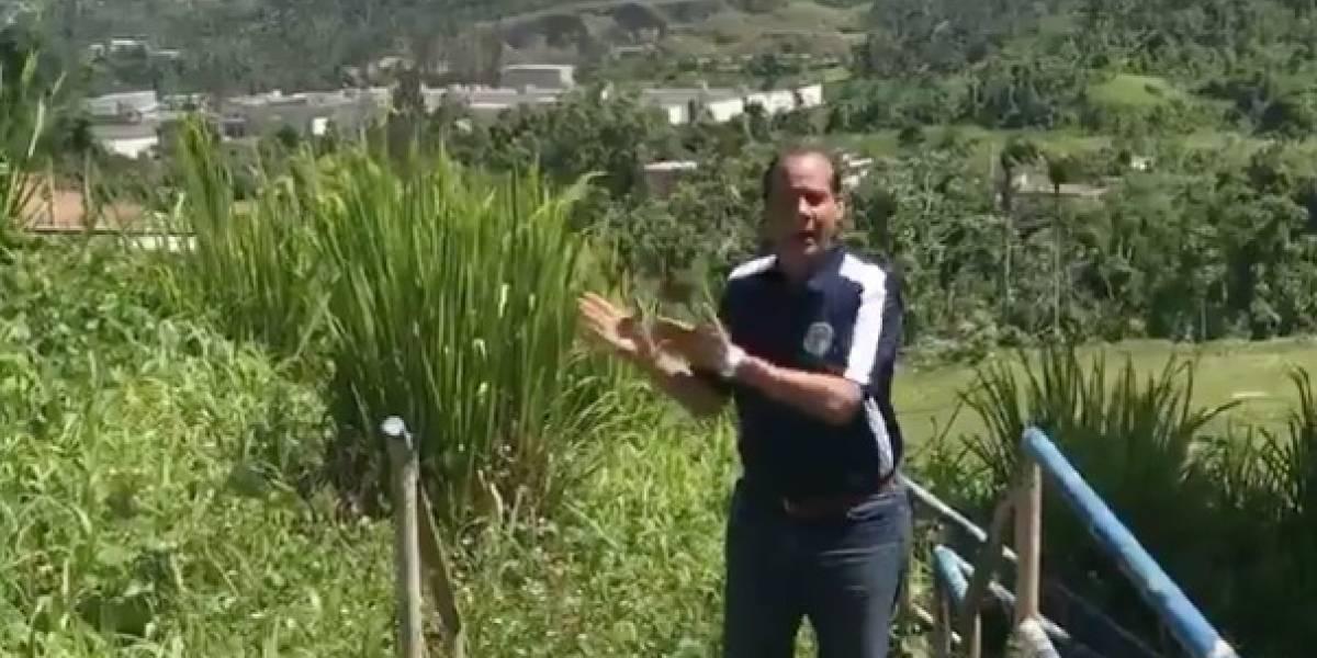 """Jorge Navarro vuelve a enfilar cañones contra Yulín por """"abandono total"""" de Caimito"""