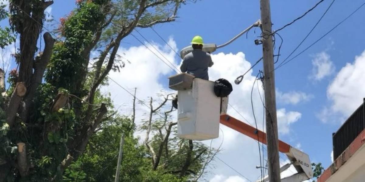 AEE: Más de 6 mil clientes se mantienen sin electricidad