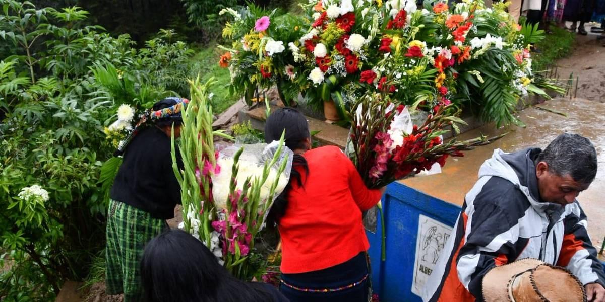 Claudia Gómez es despedida en Quetzaltenango, su tierra natal