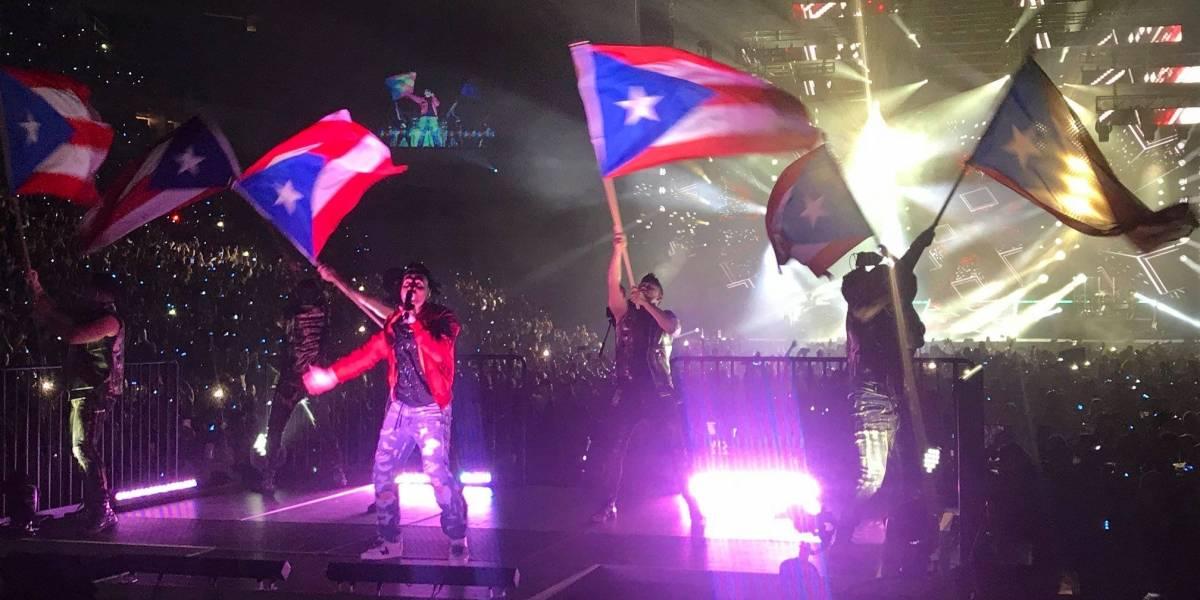 Daddy Yankee llegó al concierto de Luis Fonsi para cantar Despacito