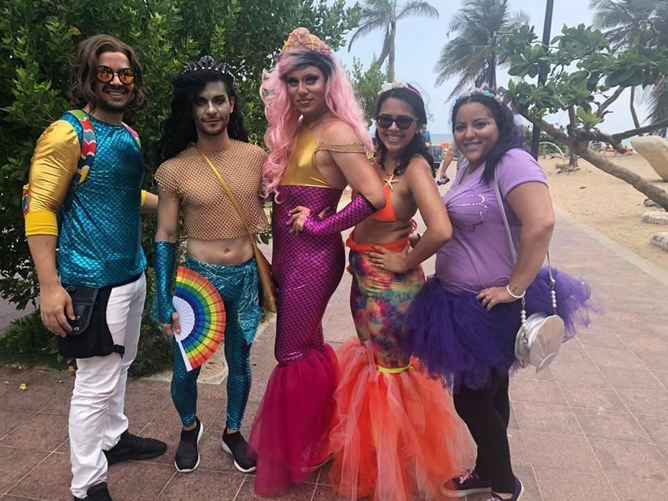 Marcha del Orgullo LGBTT en San Juan. Suministrada