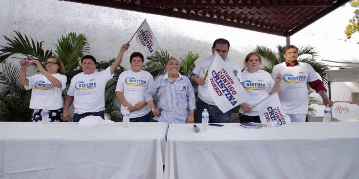 Cientos de militantes de Morena se suman al proyecto de Cristina Torres