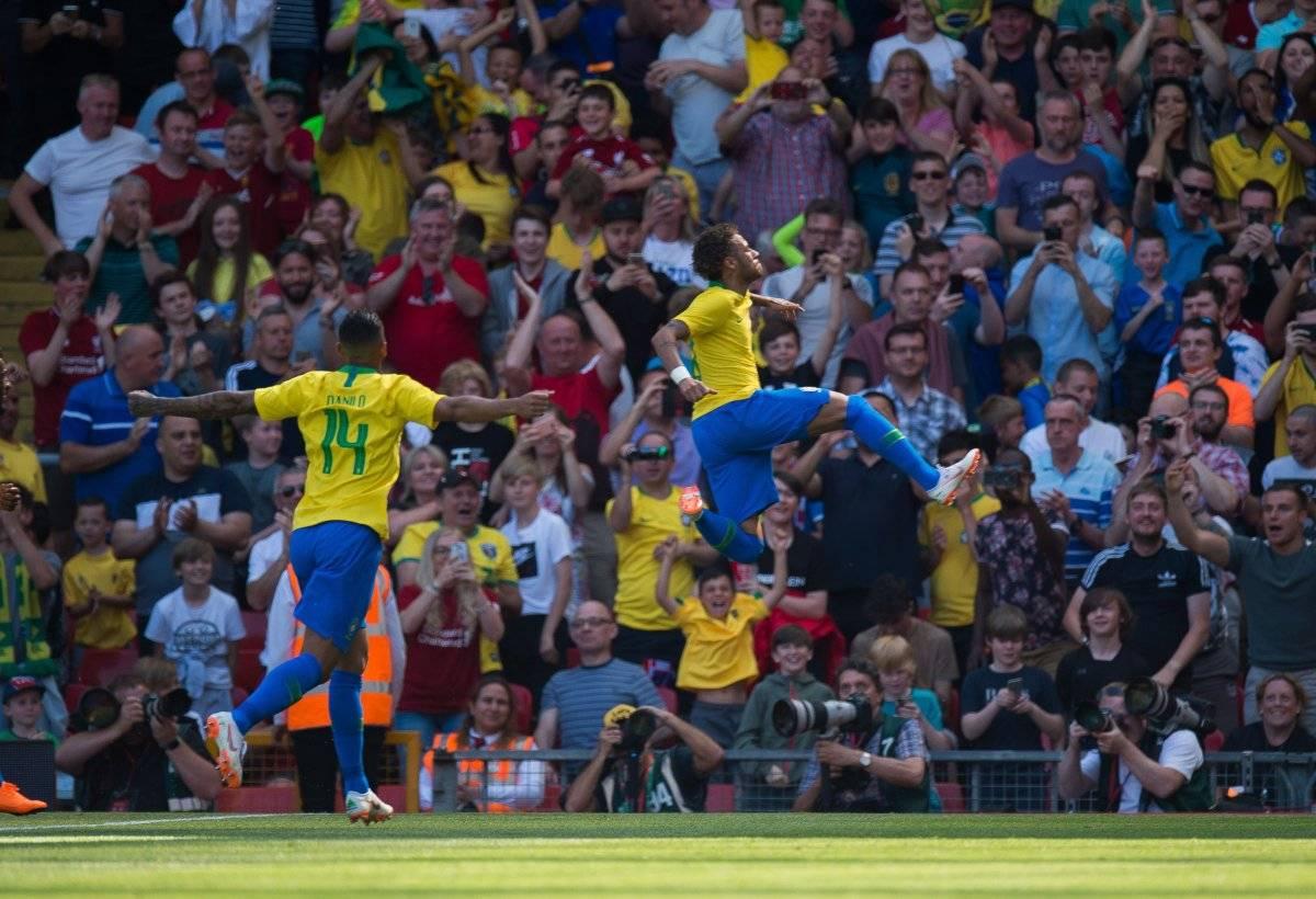 Neymar reaparece con gol en triunfo de Brasil ante Croacia EFE