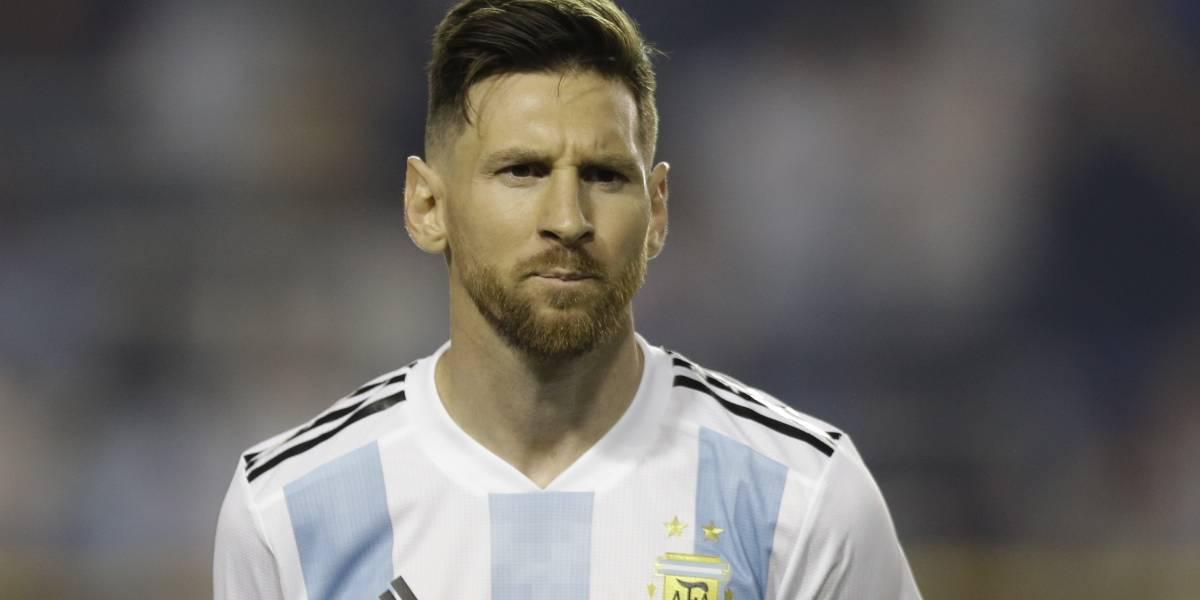 En Palestina piden quemar camisetas e imágenes de Messi si Argentina juega contra Israel