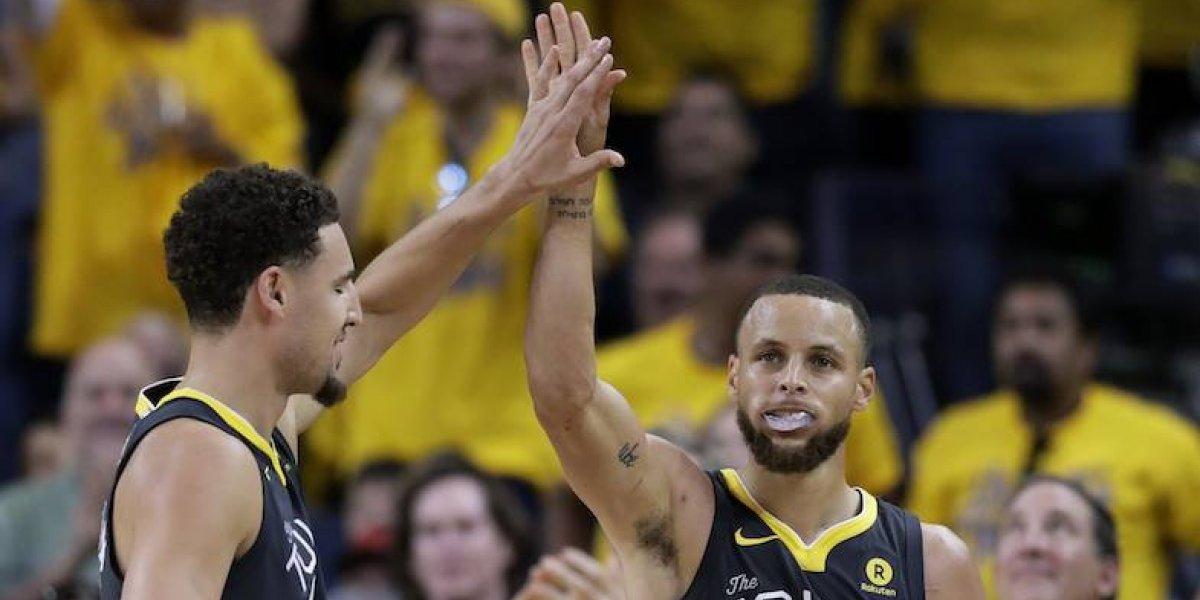 Warriors toma ventaja de 2-0 sobre los Cavaliers