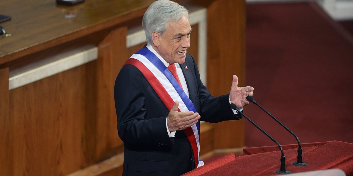 """Presidente Sebastián Piñera: """"Los  jueces serán los encargados de decidir la adopción homoparental"""""""