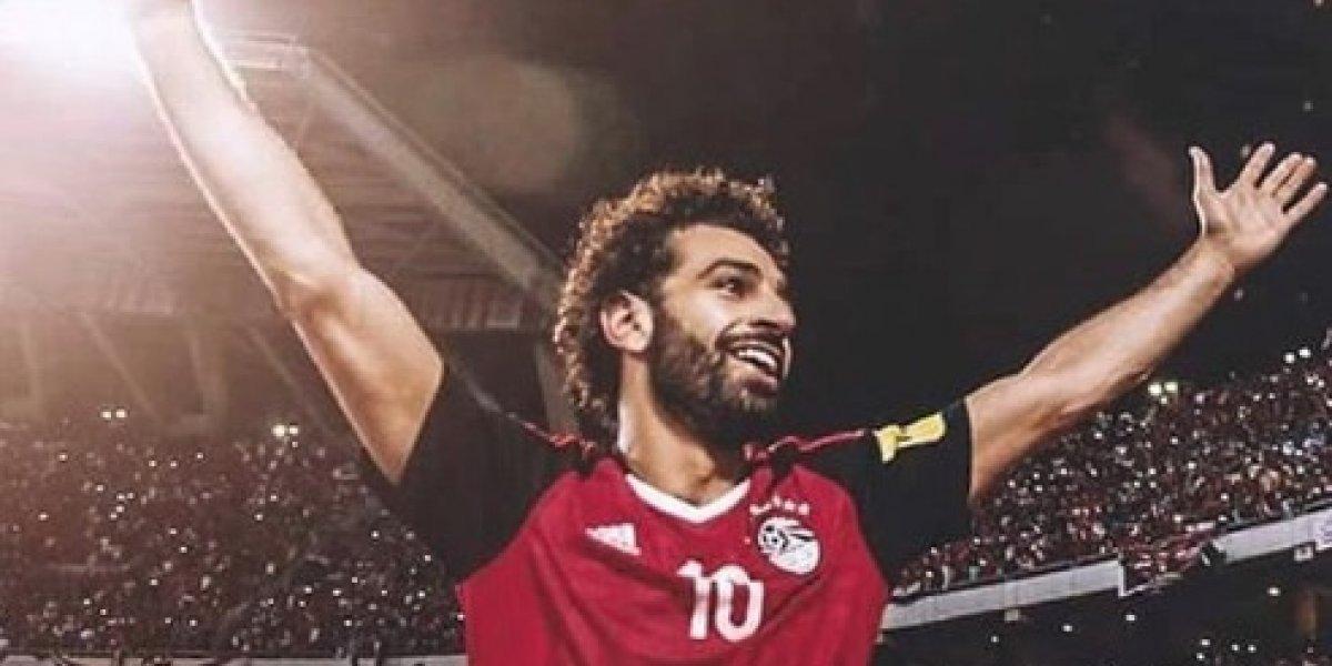 Mohamed Salah realiza recuperación para llegar a Rusia 2018