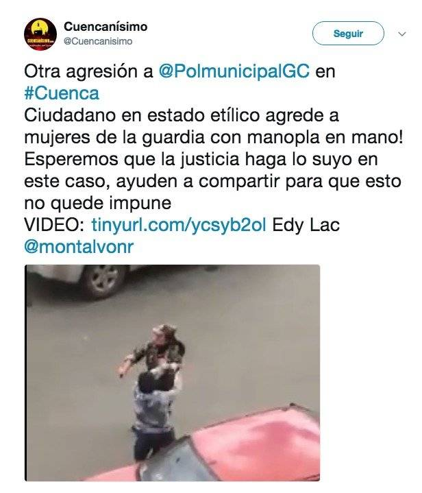 Captura de pantalla Twitter