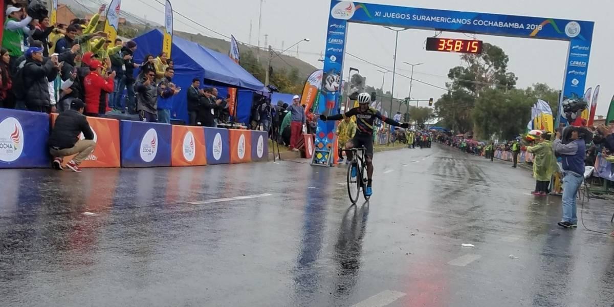 Juegos Suramericanos: Jefferson Cepeda consiguió oro en ciclismo de ruta
