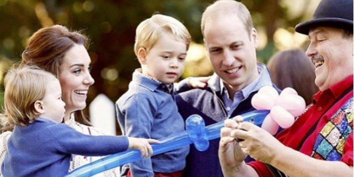 El príncipe George fue blanco de un ataque terrorista