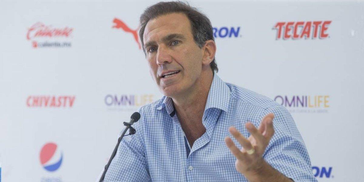 De Anda ratifica a Matías Almeyda como técnico de Chivas y confirma salida de Pizarro