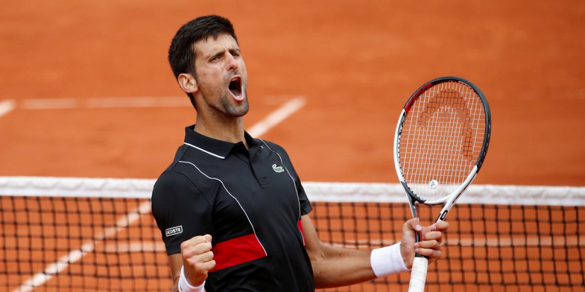 Novak Djokovic pasa a los cuartos de final del Roland Garros