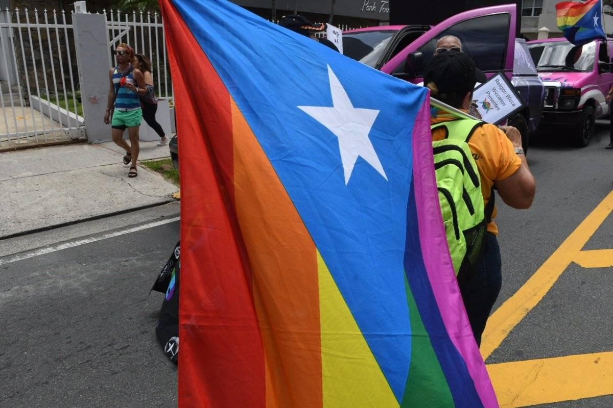 Marcha del Orgullo LGBTT en San Juan. Denis Jones