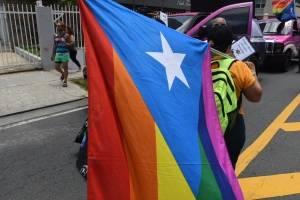 Marcha del Orgullo LGBTT en San Juan.