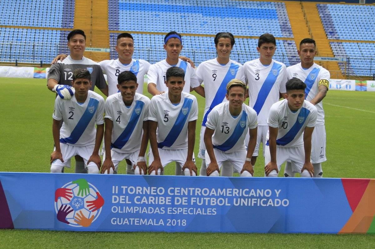 El equipo nacional de Guatemala
