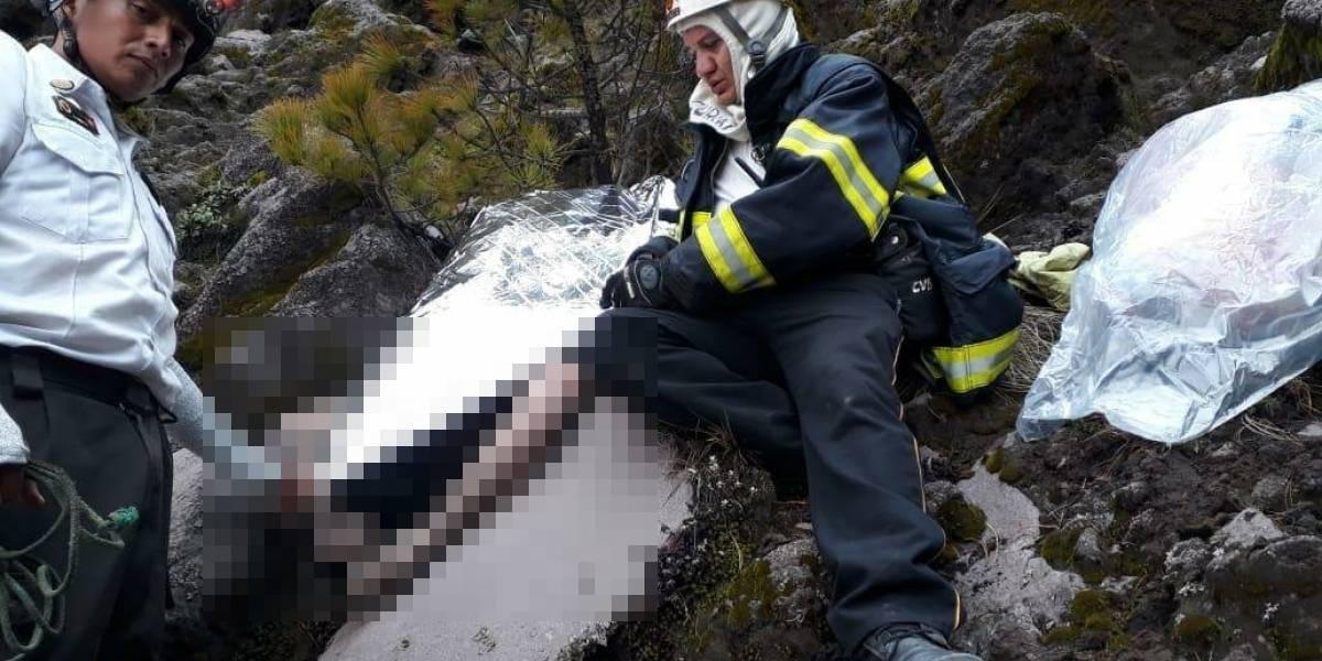 Hallan cadáver de desaparecido en el volcán Acatenango
