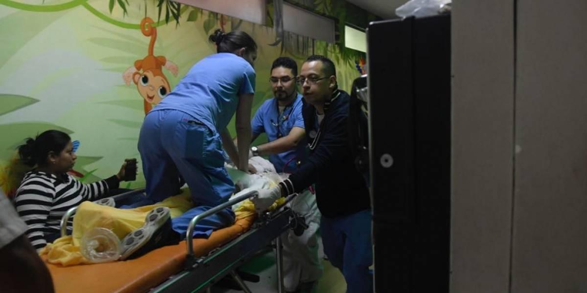 Dan a conocer estado de los pacientes atendidos en hospitales tras la erupción
