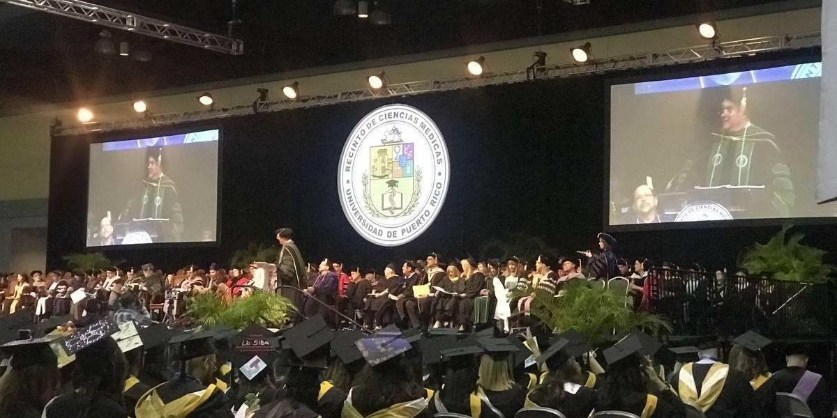 780 estudiantes se gradúan del Recinto de Ciencias Médicas