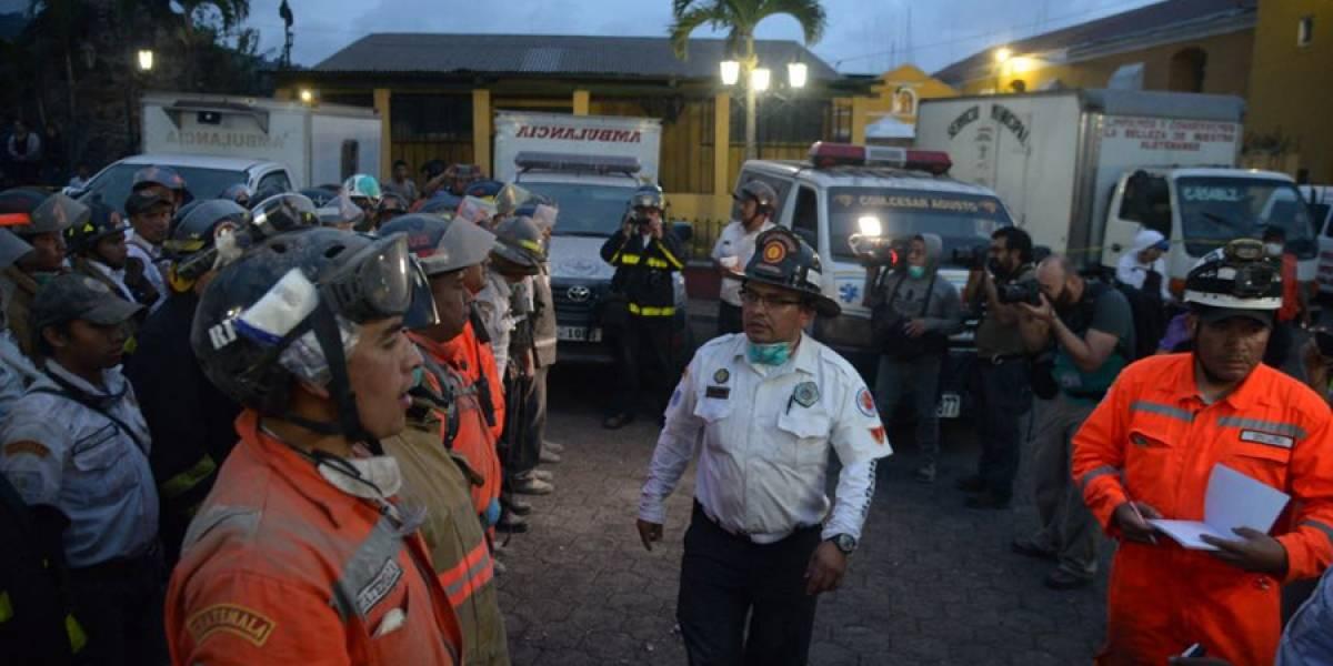 Bomberos, PNC y Ejército unen fuerzas para salvar vidas tras emergencia